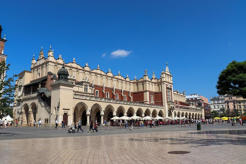 Plaza del Mercado, Cracovia